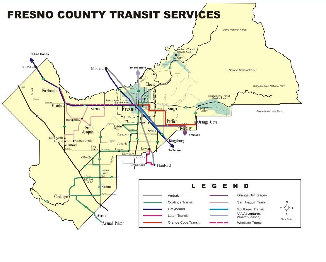 Fresno County Transit Services