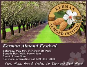 Almond Festival Flyer Promotional piece-01